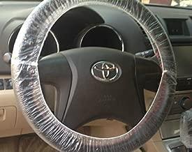 ハンドル カバー 使い捨て 100枚 車体整備 消耗品 ビニール 作業保護 汚れ防止