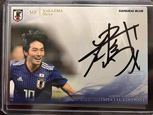 直筆サイン 中島翔哉 サッカー日本代表 直筆サインカード 日本代表SE2019