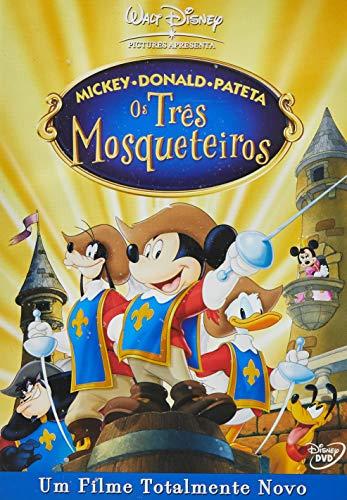 Mickey Donald E Pateta Os Três Mosqueteiros [DVD]