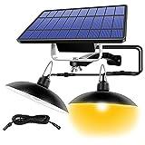 QHGao Luces Colgantes Solares Lámpara Impermeable IP65 para...