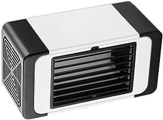 HIZLJJ Aire Acondicionado Personal Mini acondicionador de Aire, más frío, portátil Ultra-silencioso Mini Tabla de Aire Acondicionado, Ventilador de Escritorio USB for la Oficina, casa, Viajes