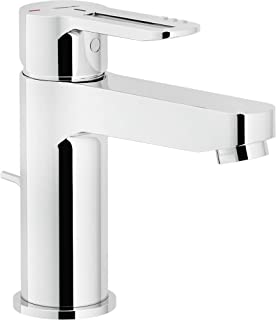Nobili Rubinetterie RDE0118/1CR Eco Basin Mixer Tap with Pop Up Waste
