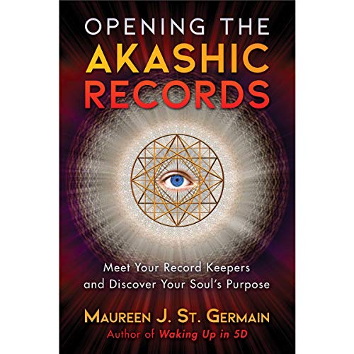 Opening the Akashic Records audiobook cover art