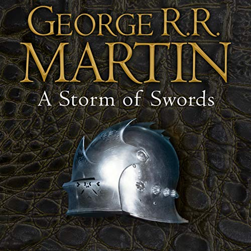 A Storm of Swords     Book 3 of A Song of Ice and Fire              By:                                                                                                                                 George R. R. Martin                               Narrated by:                                                                                                                                 Roy Dotrice                      Length: 47 hrs and 32 mins     1,233 ratings     Overall 4.8