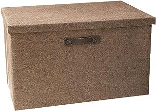 Lpiotyucwh Paniers et Boîtes De Rangement, Boîte de rangement à grande capacité ménagère, boîte de finition de tissu, armo...