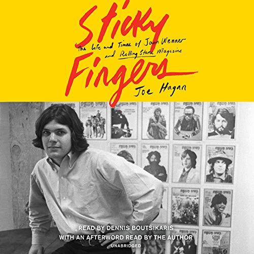 Sticky Fingers audiobook cover art