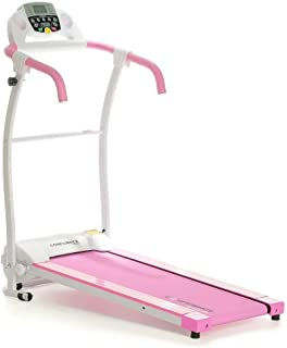 Confidence Fitness TP-1 Electric Treadmill Folding Motorised Running Machine Pink