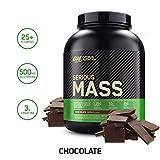 OPTIMUM NUTRITION Serious Mass Weight Gainer Protein Powder, Chocolate, 6 Pound