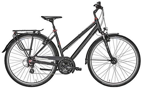 ZEG Pegasus Solero SL 24 Damenfahrrad 24 Gang Trekkingrad 2020, Farbe:schwarz, Rahmenhöhe:53 cm