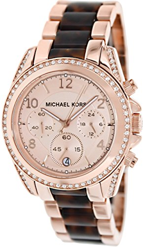 Michael Kors Women's Blair MK5859 Two-Tone Stainless-Steel Quartz Watch...