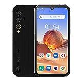 smartphone rugged blackview bv9900e,android 10,helio p90 6gb+128gb, fotocamera quad ai 48mp, cellulare in offerta impermeabile antiurto ip68,fhd+ 5,84'' gorilla glass 5, ricarica wireless nfc argento