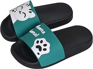 Girls Boys Slide Sandals Anti-Slip Lightweight Beach Water Shoes Shower Pool Home Slippers for Toddler Little Kids