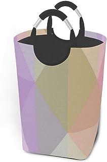 Panier à linge Vector Flou Triangle Texture Grand Sac à linge sale pliable Panier à linge Grand Paniers de rangement en ti...