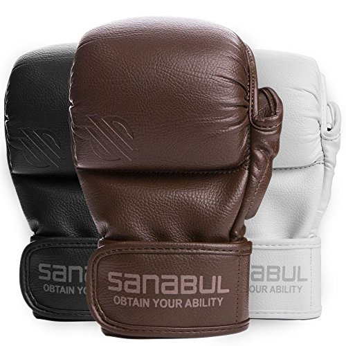 Sanabul New Item Battle Forged 7 oz MMA Hybrid Sparring Gloves