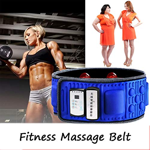 Heizung Schlankheitsgürtel, Elektrisch Massage Gürtel, Fat Burning Bewegung Durchblutung Verbessern Für Bauch Beine Schenkel