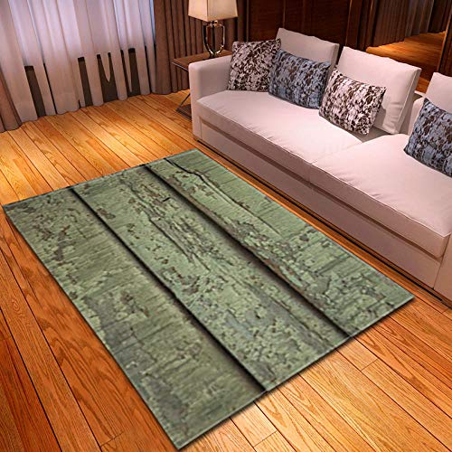 AHCMYK Area Rug for Living Room Bedroom - Vintage Wooden Board, 80x160CM Modern Indoor Super Soft Carpet Suitable Mat Rug Home Decor Touch Thick Pile Carpets Durable Non Shedding