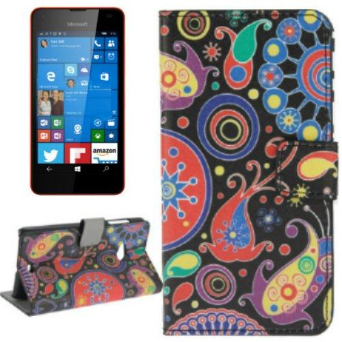 MECAWEB CUSTODIA SIMILPELLE COVER PER SMARTPHONE NOKIA MICROSOFT LUMIA 550