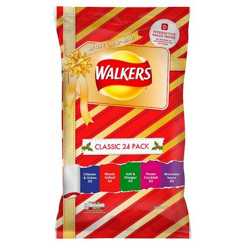 Walkers Chips Paket Classic Variety 24 x 25 g