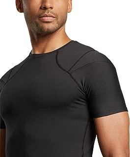 Tommie Copper - Men's Pro-Grade Short Sleeve Shoulder Support Shirt - Black - X Large
