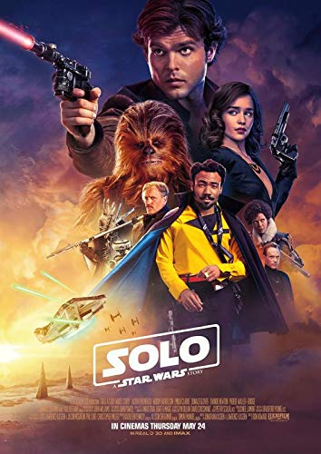 Solo : A Star Wars Story – U.S Movie Wall Poster Print - 30cm x 43cm / 12 inches x 17 inches
