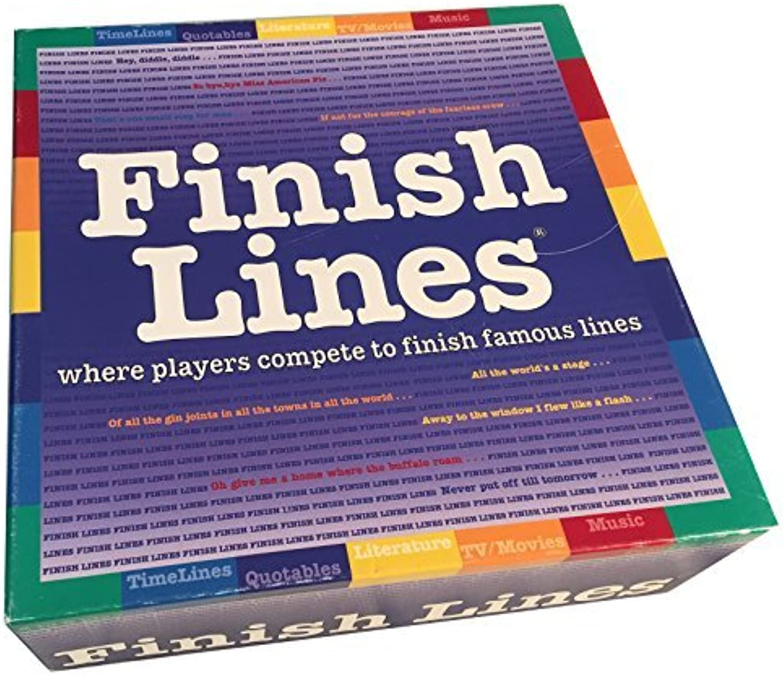 tiendas minoristas Finish Finish Finish Lines Juego by Juegos For All Reasons  genuina alta calidad