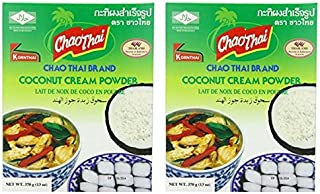 Chao Thai Coconut Powder, Large, 13 Ounce (Pack of 2)