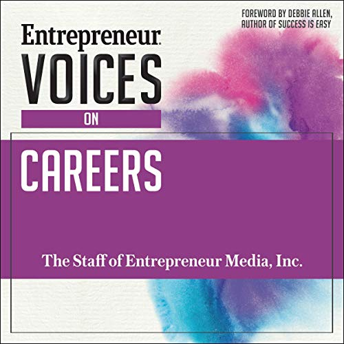 Entrepreneur Voices on Careers audiobook cover art
