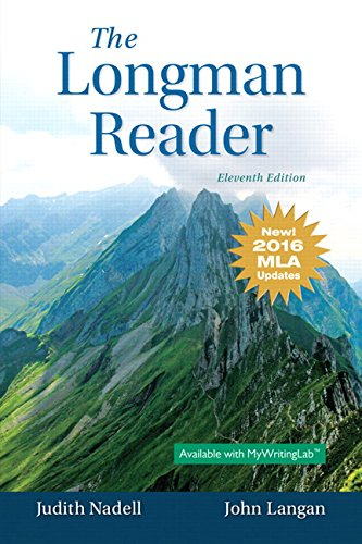 Longman Reader, The, MLA Update Edition (11th Edition)