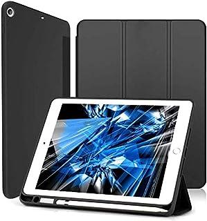 Wonzir iPad 第9世代 ケース iPad 10.2 ケース (2021/2020/2019モデル) ペンシル収納可能 スタンド機能 iPad 10.2 インチ 第9世代/第8世代/第7世代 保護カバー 軽量 薄型 シンプル 三つ折りス...