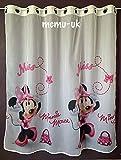 Disney Voile/Gardine Minnie Mouse Öse Ringe Breite 150 cm x 144 cm Lange