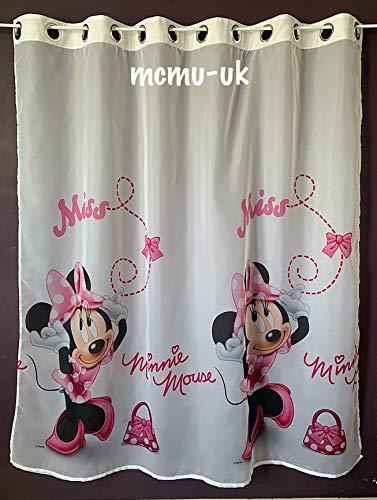 Disney Voile/Gardine Minnie Mouse Öse Ringe Breite 150 cm x 150 cm Lange