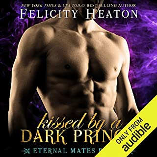 Kissed by a Dark Prince audiobook cover art