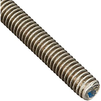5 Pack 18-8 Stainless Steel Threaded Rod Size: 7//8-9 Length: 36 inches