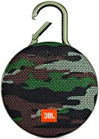JBL CLIP 3 - Waterproof Portable Bluetooth Speaker - Squad Camo
