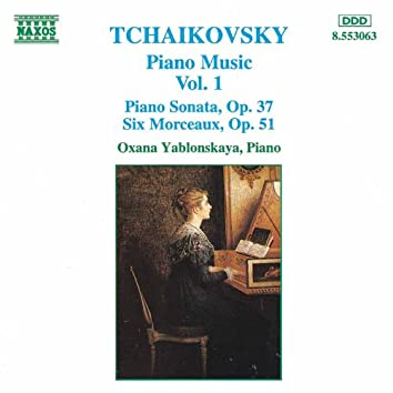 TCHAIKOVSKY: Piano Music, Vol.  1
