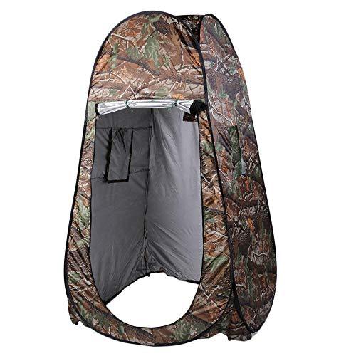 BVYO Tragbare Dusche Toilette Camping Pop Up Zelt Tarn- / UV-Funktion Outdoor-Ankleidezelt/Fotozelt
