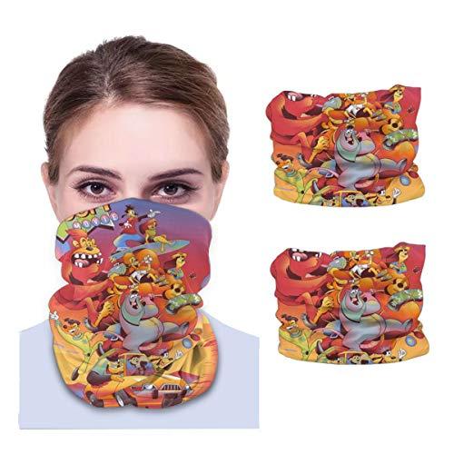 Classic Cartoon Characters Goofy Men Women Motorcycle Ski Half Face Mask Balaclava Soft Neck Gaiter