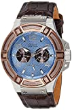 GUESS Analog Blue Dial Unisex Watch - W0040G10