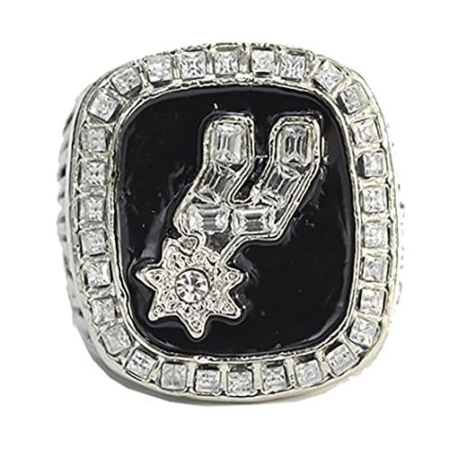 NBA 1999 Anillo de campeonato de Los Angeles Lakers, réplica de anillo de campeonato, colección de recuerdos para fanáticos, regalo para hombres, anillo para el dedo para fanáticos de los deportes