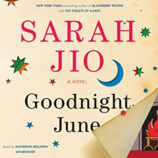Goodnight June audiobook cover art