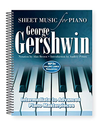Price comparison product image George Gershwin: Sheet Music for Piano: Intermediate to Advanced; Over 25 Masterpieces