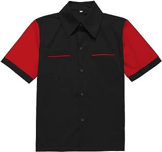 Camisa de Hombre inspiracion Retro 50s Rockabilly Shirts
