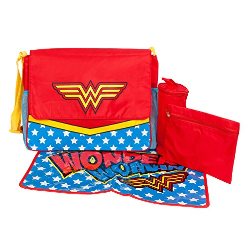 Wonder Woman Messenger Bag Diaper Tote