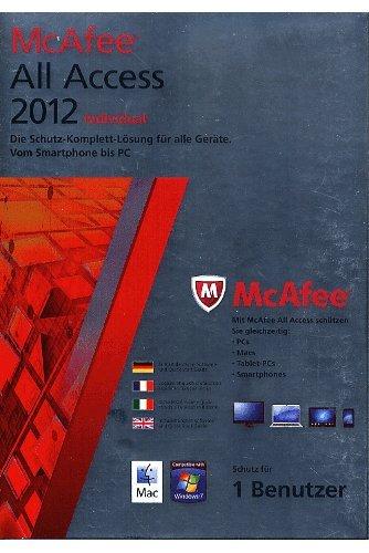 McAfee All Access 2012 1U
