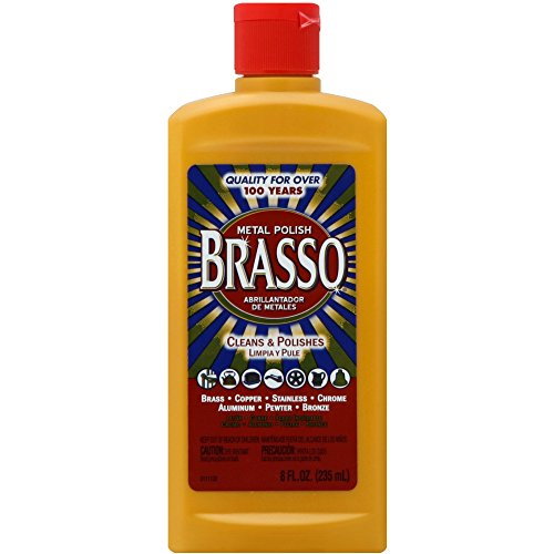 Brasso Multi-Purpose Metal Polish, 8 oz
