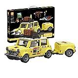 HYZH Juego de construcción de bloques de construcción para coche, 1546 bloques de construcción MOC, técnica turística, picnic, automovilismo, juguete compatible con Lego Technic
