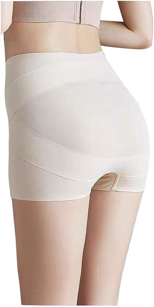Women High Waist Underwear Body-Shaping Body Pants Underpants Waist Shaping Bottoming Safety Pants