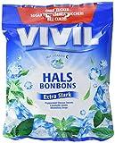 Vivil Halsbonbons Extra Stark mit Vitamin C ohne Zucker, 80 g -