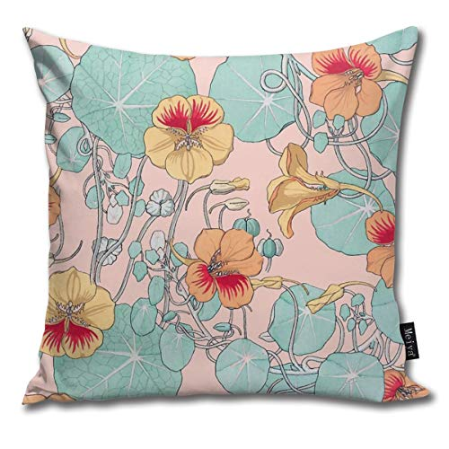 QMS CONTRACTING LIMITED Throw Pillow Cover Lily Pond #Redbubble #Decor #buyart Decorative Pillow Case Home Decor Square 18x18 Inches Pillowcase