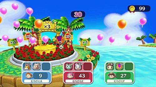 どうぶつの森amiiboフェスティバル(amiiboしずえ&amiiboカード3枚)同梱-WiiU